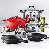 Tramontina COS1309977 Ultimate Cookware Set 10-Piece 1309977, Iron