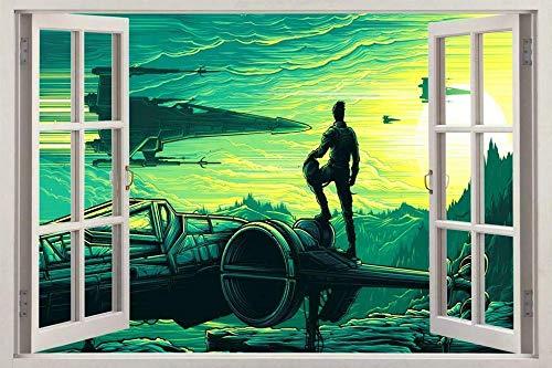 Wandtattoo Paint 3d window decal art mural