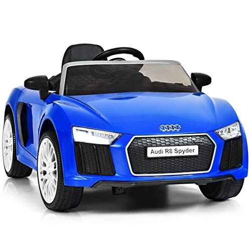 Read About Alek…Shop Car Blue Model for Kids Ride On 12 V Spyder Licensed Electric Riding Car Remo...