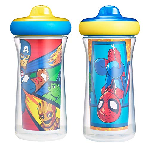 The First Years Marvel Insulated Sippy Cup 9 Oz - 2pk, Multi