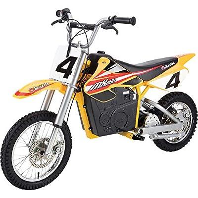 Razor MX650 Dirt Rocket Electric Motocross Bike - Yellow from Razor