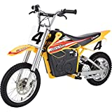 Razor MX650 Dirt Rocket Electric-Powered Dirt Bike with Authentic Motocross Dirt Bike Geometry, Rear-Wheel Drive, High-Torque,...