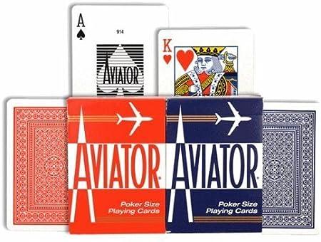 Aviator Spielkarten, Gehäuse von 8