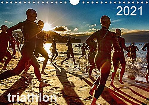 TRIATHLON 2021 (Wandkalender 2021 DIN A4 quer)