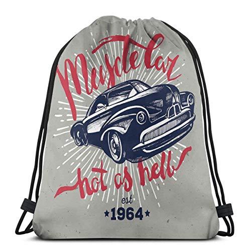 Hangdachang Hot As Hell Muscle Car Cotización Clásico Vintage Coche Deportivo En...