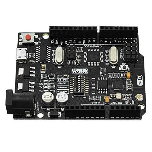 Tablero de desarrollo Se puede utilizar for la placa Arduino, UNO R3 + WiFi + ATmega328P ESP8266 32 Mb de memoria USB-TTL CH340G