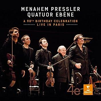 Menahem Pressler - A 90th Birthday Celebration - Live in Paris