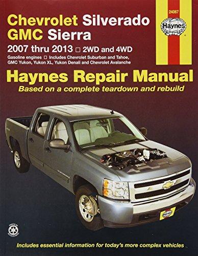 Haynes 24067 Chevy Silverado & GMC Sierra Manual de reparación (2007-2014)