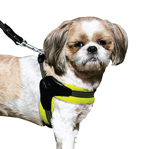 Sporn Easy Fit Dog Harness, Mesh, Yellow, Small (SPUS20060)
