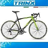 Trinx Tempo 1.0700C 28- bicicleta de carreras con 21velocidades Shimano para Hombre, 560mm