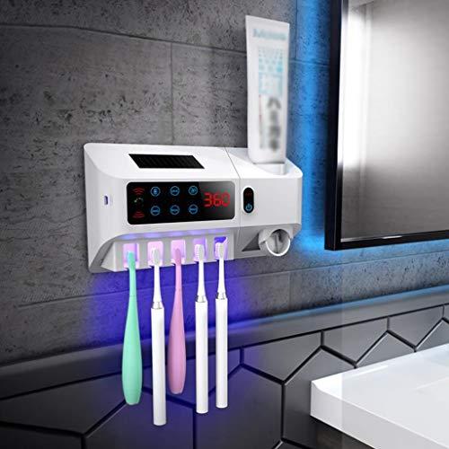 Tandenborstelhouder tandenborstel sterilisator AntiBacteria UV Wall Mounted Automatische Tandenborstel opslag beugel for badkamer