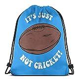 Shui Es ist einfach nicht Cricket Drawstring Rucksack Rucksack Umhängetaschen Sporttasche