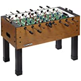 Carrom Preassembled Foosball Table, Burr Oak