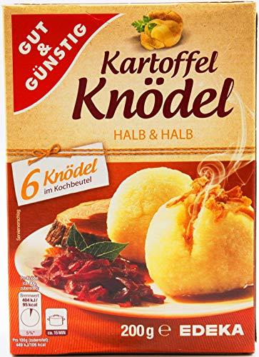 Gut und Günstig Kartoffel-Knödel halb & halb, 4er Pack (4 x 200g)