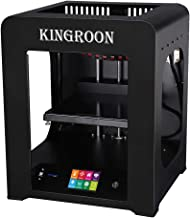 3D Printer, Kingroon Fully Assembled with Touch Screen Assisted Level and Printing Space(200x200x210mm), Free MicroSD Card Preloaded with Printable 3D Models
