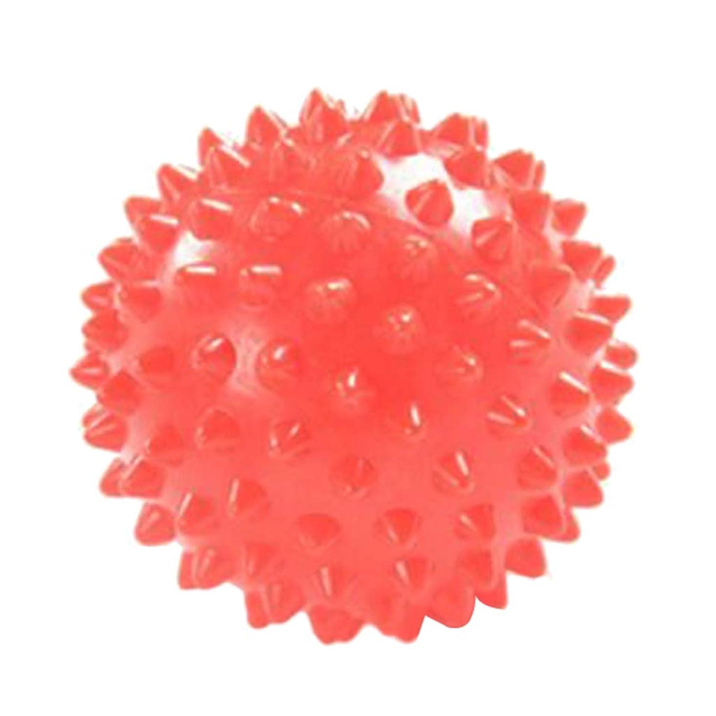 湿地ボランティア寛大なPerfeclan ヨガ マッサージボール 触覚ボール ツボ押し 7cm オレンジ