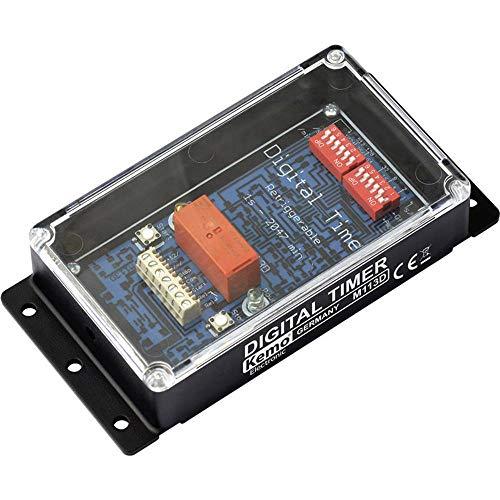 Kemo digitale tijdschakelaar 12 V/DC M113D
