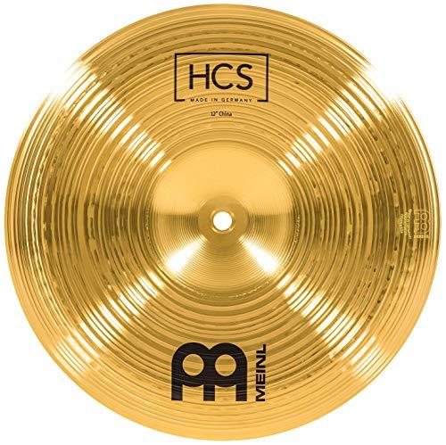 Meinl Cymbals HCS 12 Zoll China Becken für Schlagzeug – Messing, traditionelles Finish (HCS12CH)