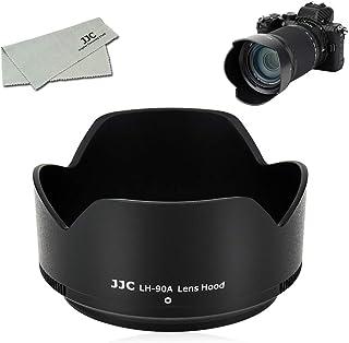 JJC HB-90A Reversible Lens Hood Shade for Nikon Nikkor Z DX 50-250mm F4.5-6.3 VR Lens on Nikon Z50 Camera, Replaces Nikon ...