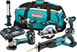 Makita DLX6000PM Pack de 6 Machines avec 3 batteries 18 V 4 Ah