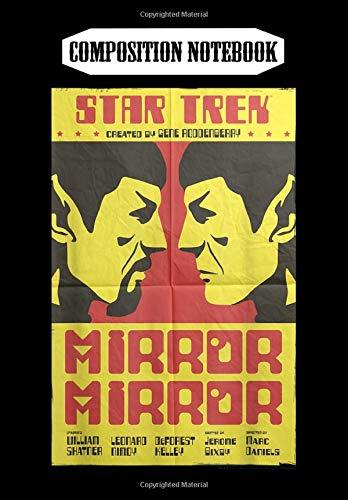 Composition Notebook: Star Trek Original Series Mirror Mirror Retro Poster, Journal 6 x 9, 100 Page Blank Lined Paperback Journal/Notebook