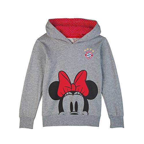 FC Bayern München Hoodie Kids Minnie Mouse, Pullover, Shirt, Gr. 86