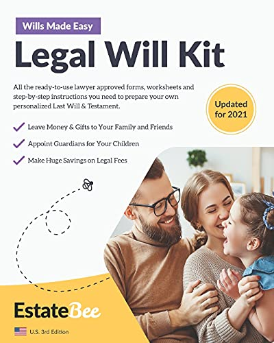 Compare Textbook Prices for Legal Will Kit: Make Your Own Last Will & Testament in Minutes.... 2021 U.S. Edition  ISBN 9781913889005 by EstateBee