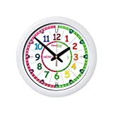 Reloj infantil EasyRead Time Teacher, con un sencillo sistema de enseñanza en 3 pasos; diámetro 29...