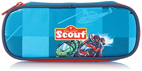 Scout Schulranzen-Set Schlamperetui Iv Helikopter 22x12x6,5cm Rot/Blau  25280053400
