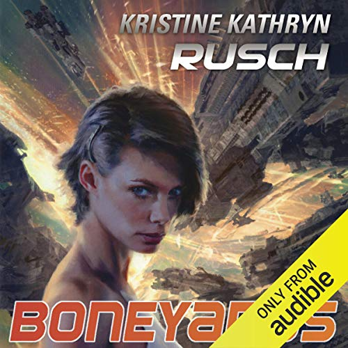 Boneyards audiobook cover art