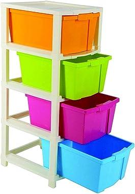 Flexcube Multipurpose Modular Drawer Organizer Storage Box - 4 Layers