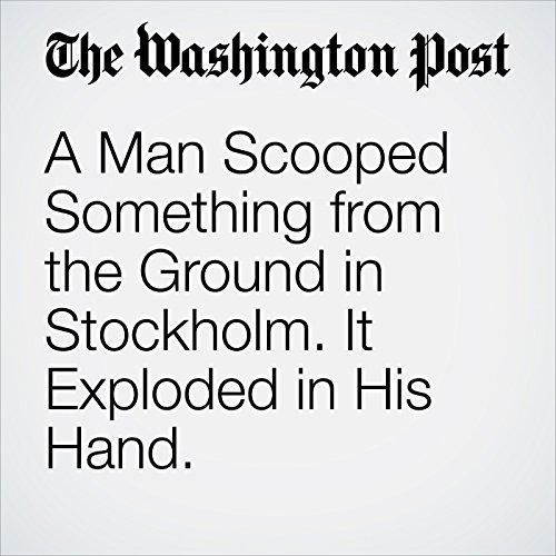 A Man Scooped Something from the Ground in Stockholm. It Exploded in His Hand. copertina