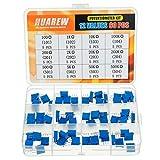 HUAREW 12 valori 60 pezzi 3296 W potenziometro trimmer multigiro 100-500 K ohm blu 3296 resistenza variabile regolazione superiore kit di classificazione