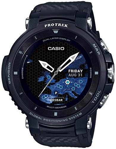 [Casio] CASIO smart outdoor watch Proto Rec smart GPS mounted WSD-F30-BK men