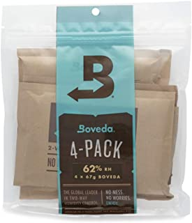 Sponsored Ad - Boveda 62% RH 2-Way Humidity Control | Size 67 in 4-Count Resealable Bag
