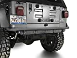 Steinjager TJ Wrangler Rear Bumper Fits Jeep TJ's from 1997 to 2006 (Bare J0049302)