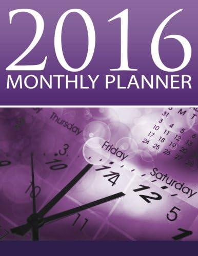 2016 Monthly Planner Organizer Planner 2016 Engagement Planner Calendar Volume 1 product image