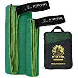 Best Camp Towels - Wise Owl Outfitters Camping Towel & Gym Towel Review