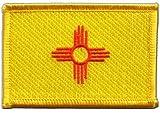 Flaggen Aufnäher USA New Mexico Fahne Patch + gratis