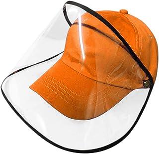 FUN FAN LINE - Casquette de Baseball avec écran ou Masque de Protection Transparent pour la sécurité. Protecteur de Visage.