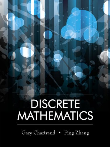 Compare Textbook Prices for Discrete Mathematics 1 Edition ISBN 9781577667308 by Gary Chartrand,Ping Zhang