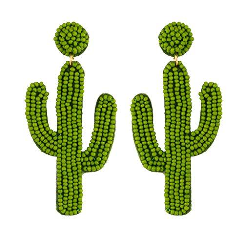 Wrubxvcd Personality Ohr, Ohrring-Korn-Reis Cactus Ohr anhängig
