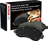 Bosch BSD1400 Severe Duty Disc Brake Pad Set for Select 2009-16 Dodge and Ram 2500/3500 Series Trucks - REAR