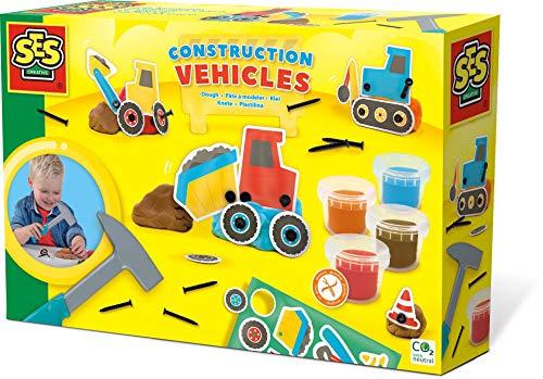 SES Creative 00438 Knete-Baufahrzeuge