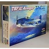 Hobby Boss TBF-1C Avenger Airplane Model Building Kit