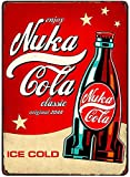 Bar Signs, Sign Plate, Metal Painting, Fallout 3 4 Game Nuke COLA Metal Signs Wall Poster Decor for Home Room School Iron Painting (pic2)