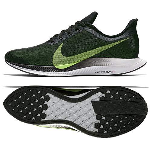 Nike Zoom Pegasus 35 Turbo AJ4114-004 Black/Vast Grey/Lime Blast Men's Running Shoes (13)