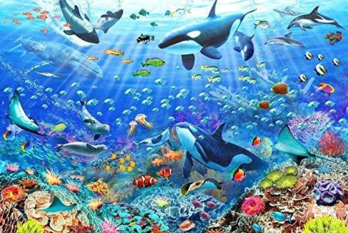1000 Stukjes Volwassen Legpuzzels Game Kids Puzzle Toys Woondecoratie Aquarium De Onderwaterwereld Mooie Zeebodem Verjaardagscadeautjes