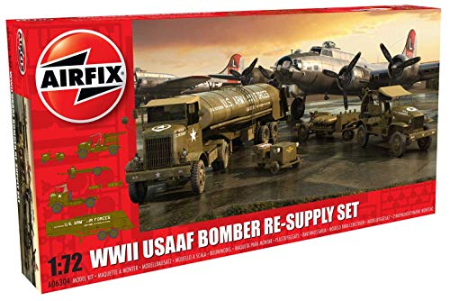 Airfix A06304 1/72 USAAF 8th Air Force Bomber Re-Supply Set Modellbausatz