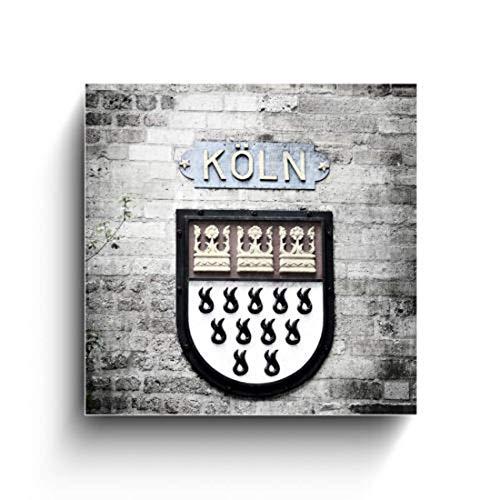Stadtwappen von Köln, Köln Fotos auf Holz, Holzbild, Handmade, verschiedene Größen